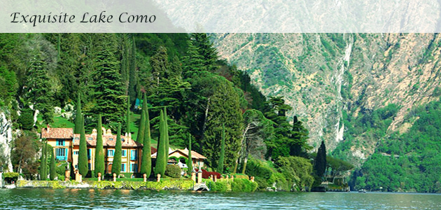 Exquisite Lake Como